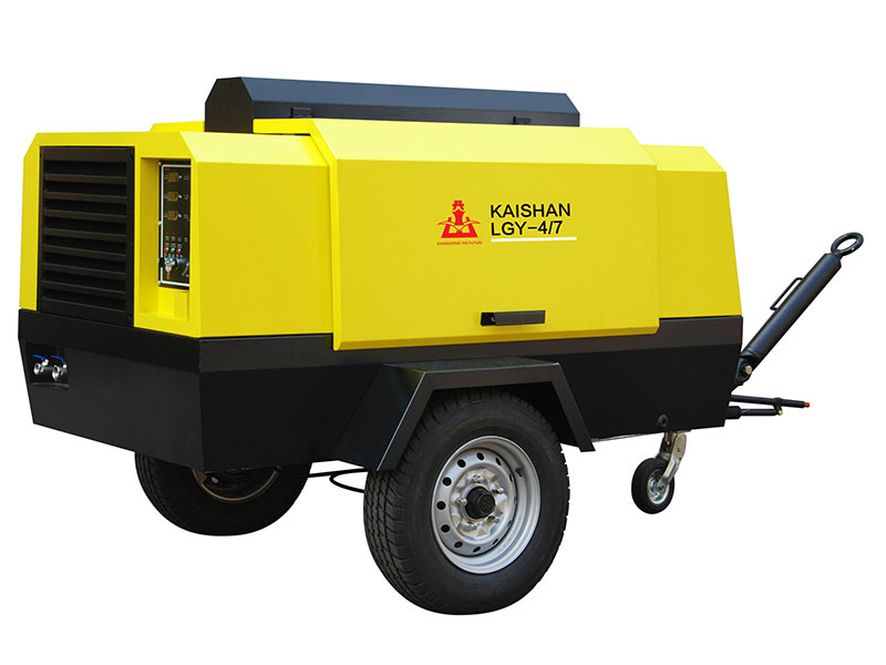 Stationary Electric Screw Compressor